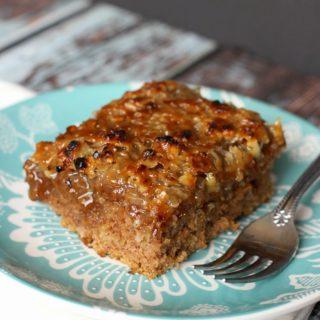 Old-Fashioned Oatmeal Cake