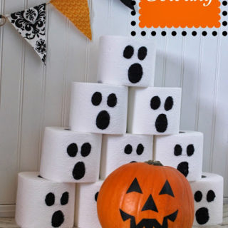 Pumpkin Bowling Halloween Party Game