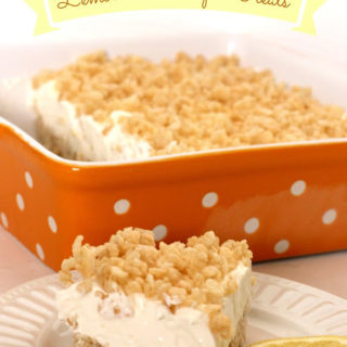 Lemonade Krispie Treats