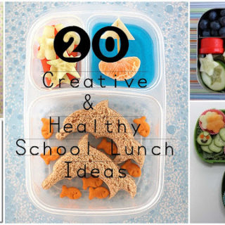 20 Creative & Mostly Healthy School Lunch Ideas