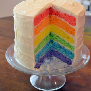 Reader Submission: Rainbow Birthday Party